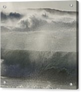 Wind Thrashes The Waves At Camps Bay Acrylic Print
