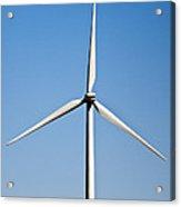 Wind Turbine Acrylic Print