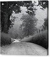 Winding Rural Road Acrylic Print