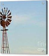 Windmill-3673 Acrylic Print