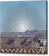 Windmill Culture Clash Acrylic Print