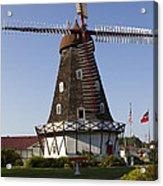 Windmill Danish Style 1 A Acrylic Print