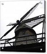 Windmill In The Sky Acrylic Print