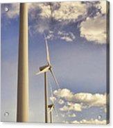 Windmill Ridge Acrylic Print