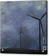 Windmills. Acrylic Print