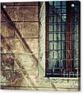 Window And Long Shadows Acrylic Print