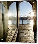 Window And Sun Acrylic Print