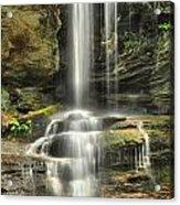 Window Falls Cascade Acrylic Print
