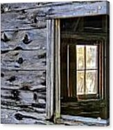 Window Frame Acrylic Print