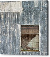 Window In Time 2 Acrylic Print