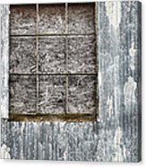 Window In Time 3 Acrylic Print