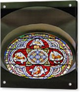 Window In Trinity Church I Acrylic Print