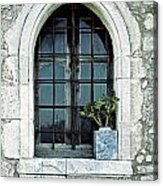 Window Of A Chapel Acrylic Print