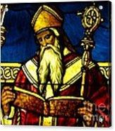 Window Of Saint Agustine Acrylic Print