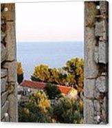 Window Of Sea Acrylic Print