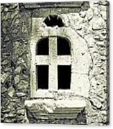 Window Of Stone Acrylic Print