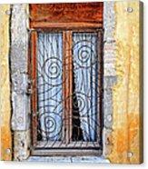 Window Provence France Acrylic Print