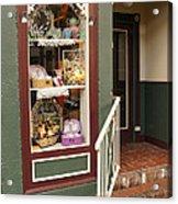 Window Shop Detail Acrylic Print