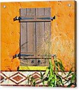 Window To Africa Acrylic Print
