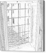 Window To History Acrylic Print
