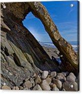 Window To The Beach Acrylic Print