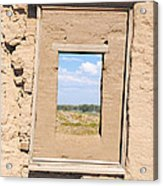 Window To The Past Acrylic Print by Sean McGuire