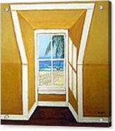 Window To The Sea No. 3 Acrylic Print