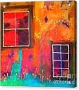 Window Watching  Outside Looking In Acrylic Print