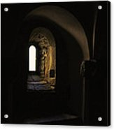 Window With Light Acrylic Print