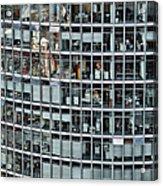 Windows Again, Berlin Acrylic Print by Eike Maschewski