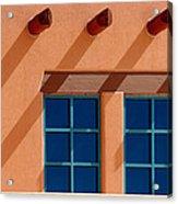 Windows Blue Acrylic Print