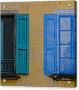 Windows Acrylic Print by Debra and Dave Vanderlaan