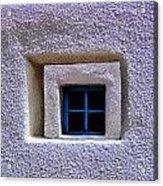 Windows Of Taos Acrylic Print