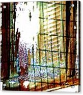 Windows Old And New 2 Acrylic Print