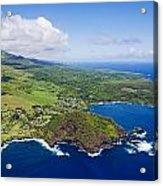 Windward Maui Aerial II Acrylic Print