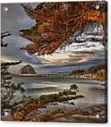 Windy Cove Acrylic Print