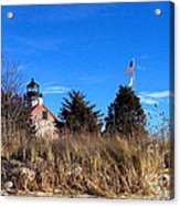 Windy Day At East Point  Acrylic Print