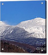 Windy Day At Mt Washington Acrylic Print