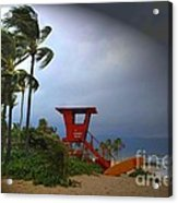 Windy Day In Haleiwa Acrylic Print