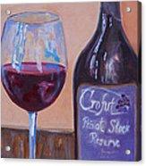 Wine And Chocolate Acrylic Print