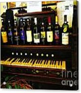 Wine And Song  Acrylic Print
