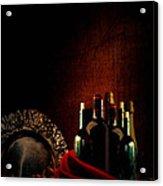 Wine Break Acrylic Print