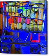 Wine Buggy Acrylic Print by James Eller