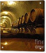 Wine Cellar Acrylic Print by Micah May