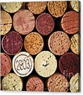 Wine Corks Acrylic Print by Elena Elisseeva