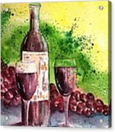 Wine For Two - 2 Acrylic Print
