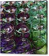 Wine Goblets Acrylic Print