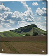 Wine Hills Of Germany Acrylic Print