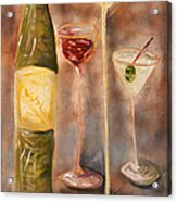 Wine Or Martini? Acrylic Print