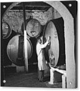 Wine Vaults Acrylic Print